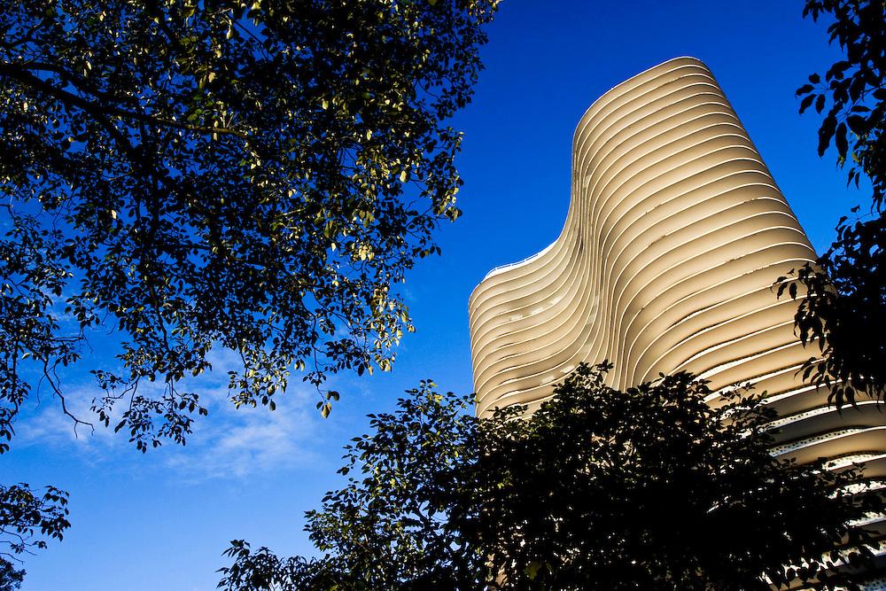 Belo Horizonte_MG, Brasil...Edificio Niemeyer na Praca da Liberdade em Belo Horizonte, ele foi projetado pelo arquiteto Oscar Niemeyer, Minas Gerais...The Niemeyer building in Liberdade square, it was designed by architect Oscar Niemeyer, Minas Gerais. ..Foto: LEO DRUMOND /  NITRO