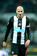 Jonjo Shelvey (#8) of Newcastle United during the Premier League match between Newcastle United and Crystal Palace at St. James's Park, Newcastle, England on 21 December 2019.