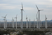 The San Gorgonio Pass wind farm is seen from the I-10 East on Thursday, Dec. 24, 2020, in North Palm Springs, Calif. (Dylan Stewart/Image of Sport)