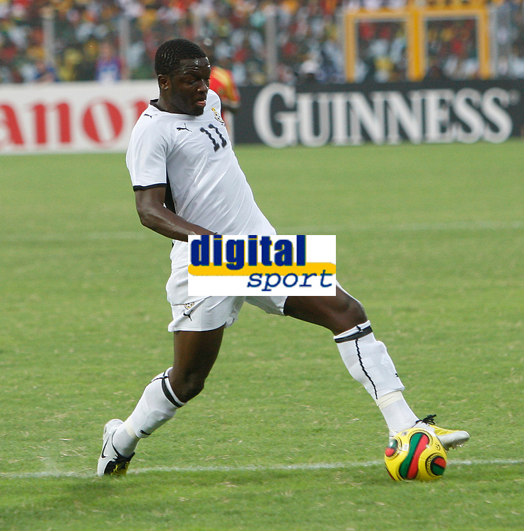 Photo: Steve Bond/Richard Lane Photography.<br />Ghana v Guinea. Africa Cup of Nations. 20/01/2008. Sulley Muntari of Ghana and Portsmouth