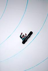 February 14, 2018 - PyeongChang, South Korea - SCOTTY JAMES of Australia falls during Snowboard Men's Halfpipe Final at Phoenix Snow Park during the 2018 Pyeongchang Winter Olympic Games. (Credit Image: © Scott Mc Kiernan via ZUMA Wire)