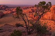 Sunset, Monument Valley, Hunts Mesa, Arizona