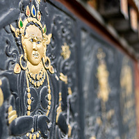 Stonework, detail, Thimpu, Bhutan<br /> <br /> Full photoessay at http://xpatmatt.com/photos/bhutan-photos/