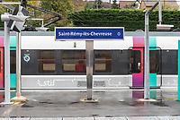 RER B signage.