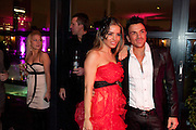 Elen Rives; Peter Andre, InStyle's Best Of British Talent Party in association with Lancome. Shoreditch HouseLondon. 25 January 2011, -DO NOT ARCHIVE-© Copyright Photograph by Dafydd Jones. 248 Clapham Rd. London SW9 0PZ. Tel 0207 820 0771. www.dafjones.com.