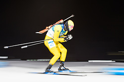 February 11, 2018 - Pyeongchang, Gangwon, South Korea - Sebastian Samuelsson of Sweden at Mens 10 kilometre sprint Biathlon at olympics at Alpensia biathlon stadium, Pyeongchang, South Korea on February 11, 2018. (Credit Image: © Ulrik Pedersen/NurPhoto via ZUMA Press)