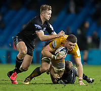 Exeter Chiefs' Dave Ewers in action during todays match<br /> <br /> Photographer Bob Bradford/CameraSport<br /> <br /> Heineken Champions Cup Group B - Exeter Chiefs v Glasgow Warriors - Sunday 13th December, 2020 - Sandy Park - Exeter<br /> <br /> World Copyright © 2020 CameraSport. All rights reserved. 43 Linden Ave. Countesthorpe. Leicester. England. LE8 5PG - Tel: +44 (0) 116 277 4147 - admin@camerasport.com - www.camerasport.com