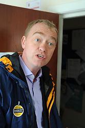 Willie Rennie, Cowdenbeath, 29-4-2016<br /> <br /> Tim Farron<br /> <br /> (c) David Wardle | Edinburgh Elite media