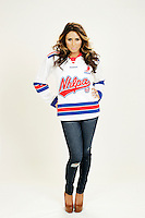 9 November 2012:  Brianne Huskins. Wife of professional hockey player Kent Huskins. Photographed for the Real Housewives of the National Hockey League in Tustin, CA.