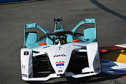 May 11, 2019 - Monaco, Monaco - 8 French driver Tom Dillmann of Nio Formula E Team drive her single-seater during the 3rd edition of Monaco E-Prix, in port neighborhood in Monaco, France  (Credit Image: © Andrea Diodato/NurPhoto via ZUMA Press)