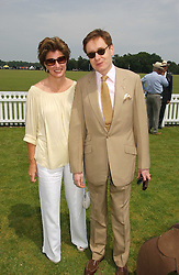 NICK & ALEX FOULKES at the Queen's Cup polo final sponsored by Cartier at Guards Polo Club, Smith's Lawn, Windsor Great Park on 18th June 2006.  The Final was between Dubai and the Broncos polo teams with Dubai winning.<br /><br />NON EXCLUSIVE - WORLD RIGHTS