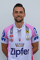 Download von www.picturedesk.com am 16.08.2019 (13:58). <br /> PASCHING, AUSTRIA - JULY 16: James Holland of LASK during the team photo shooting - LASK at TGW Arena on July 16, 2019 in Pasching, Austria.190716_SEPA_19_015 - 20190716_PD12481