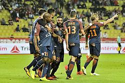 September 29, 2017 - Monaco, France - But - Joie Montpellier Souleymane Camara - (Montpellier) - Kevin Berigaud  (Credit Image: © Panoramic via ZUMA Press)