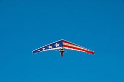 Hang gliding, hang glider, Fort Funston, San Francisco, California, USA.  Photo copyright Lee Foster.  Photo # california108426