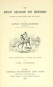 "Fox Hunting illustration From the book ' The best season on record ' selected and republished from ""The field"" by Captain Pennell-Elmhirst, Edward 1845-1916; Illustrated by John Sturgess, Published in London by George Routledge and Sons 1884"