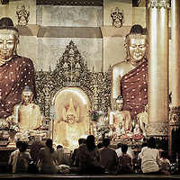 Yangon, Myanmar - May 2006<br /> Shwedagon Pagoda , the largest and most sacred Buddhist Pagoda of the world.<br /> Photo: Ezequiel Scagnetti