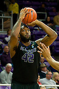 FORT WORTH, TX - JANUARY 7: Thomas Gipson #42 of the Kansas State Wildcats shoots the ball against the TCU Horned Frogs on January 7, 2014 at Daniel-Meyer Coliseum in Fort Worth, Texas.  (Photo by Cooper Neill/Getty Images) *** Local Caption *** Thomas Gipson