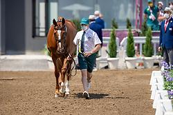 Hoy Andrew, AUS, Vassily De Lassos, 201<br /> Olympic Games Tokyo 2021<br /> © Hippo Foto - Dirk Caremans<br /> 29/07/2021