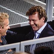 NLD/Hilversum/20160129 - Finale The Voice of Holland 2016, Erland Galjaard in gesprek met John de Mol