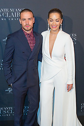 Liam Payne and Rita Ora attends Fifty Shades Freed world premiere at Salle Pleyel on February 06, 2018 in Paris, France. Photo by Nasser Berzane/ABACAPRESS.COM
