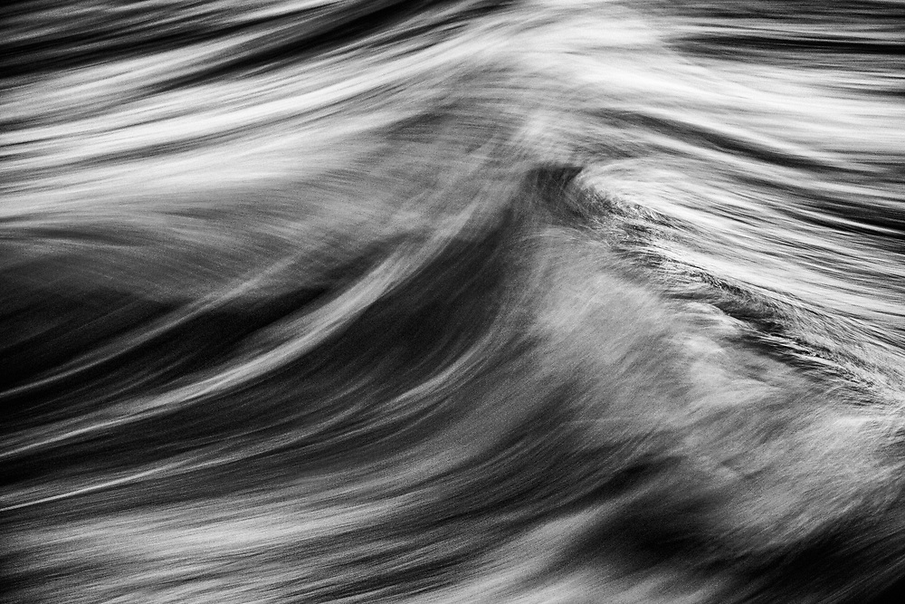 From the TRANSVERSE Series capturing movement of ocean water abstracted with slow shutter speeds. ©justinalexanderbartels.com