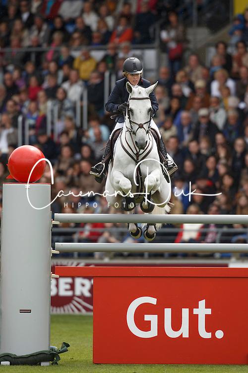 Michaels-Beerbaum Meredith, (GER), Fibonacci 17<br /> Rolex Grand Prix, The Grand Prix of Aachen<br /> Weltfest des Pferdesports Aachen 2015<br /> © Hippo Foto - Dirk Caremans<br /> 31/05/15