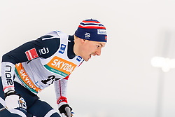 February 9, 2019 - Lahtis, FINLAND - 190209   Finn Haagen Korgh of Norway competes in the men's sprint qualification during the FIS Cross-Country World Cup on February 9, 2019 in Lahti..Photo: Johanna Lundberg / BILDBYRN / 135947 (Credit Image: © Johanna Lundberg/Bildbyran via ZUMA Press)