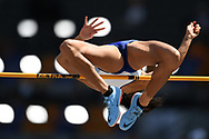 Katarina Johnson-Thompson competes in heptathlon (high jump) during the European Championships 2018, at Olympic Stadium in Berlin, Germany, Day 3, on August 9, 2018 - Photo Philippe Millereau / KMSP / ProSportsImages / DPPI