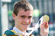 Conor O Mahony Tralee who won the Marathon at the HSE Community Games National Finals 2010 in the AIT in Athlone. Photo:Andrew Downes