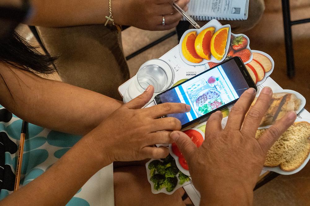 Casa Hogar- Nutrition team teaches locals on nutrition, workers adding onto Tech School, beauty School classes, and baking class in Santa Rosa de Copan, Copan on Wednesday, February 19, 2020.     Photo by Ken Cedeno