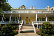 Gracie Mansion, Built in 1799 for a prosperous New York merchant named Archibald Gracie as a country house, it became the official residence of the Mayor in 1942, Carl Schurz Park, Manhattan, New York