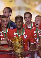 Jubel, Kingsley Coman (Bayern) mit Pokal<br /> 21.05.2016, Fussball, DFB-Pokal, Finale 2016, FC Bayern München - Borussia Dortmund<br /> Norway only
