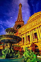 Paris Las Vegas Hotel/Casino on Las Vegas Boulevard, Las Vegas, Nevada USA