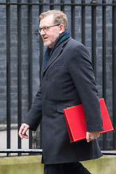 Downing Street, London, February 7th 2017. Scotland Secretary David Mundell arrives in Downing Street for the weekly UK cabinet meeting.