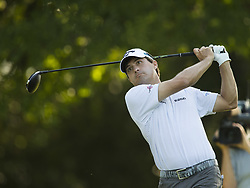 May 24, 2018 - Fort Worth, TX, USA - FORT WORTH, TX - MAY 24, 2018 - Kevin Kisner hits his tee on the 12th hole during the first round of the 2018 Fort Worth Invitational PGA at Colonial Country Club in Fort Worth, Texas (Credit Image: © Erich Schlegel via ZUMA Wire)