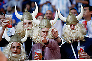 Iceland fans during the 2018 FIFA World Cup Russia, Group D football match between Argentina and Iceland on June 16, 2018 at Spartak Stadium in Moscow, Russia - Photo Thiago Bernardes / FramePhoto / ProSportsImages / DPPI