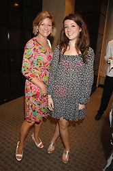 Left to right, NICKY GRANVILLE and her daughter ALI GRANVILLE at an evening of private shopping in aid of Elizabeth Fitzroy Support at Tiffany & Co, 145 Sloane Street, London on 14th May 2008.<br /><br />NON EXCLUSIVE - WORLD RIGHTS