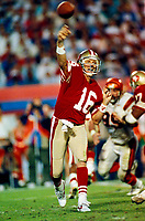 ©2005 TOM DIPACE<br />ALL RIGHTS RESERVED<br />561-968-0600  <br />Joe Montana SanFrancisco 49ers circ1989 Superbowl XXIII<br /> BY TOM DIPACE©