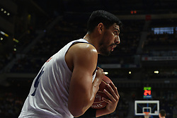May 31, 2017 - Madrid, Madrid, Spain - Gustavo Ayón, #14 of Real Madrid gestures during the first game of the semifinals of basketball Endesa league between Real Madrid and Unicaja de Málaga. (Credit Image: © Jorge Sanz/Pacific Press via ZUMA Wire)