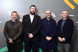 Jed Mercurio, Toby Stewart, Simon Heath and Drew Jones during the BFI and Radio Times Television Festival at the BFI Southbank, London.
