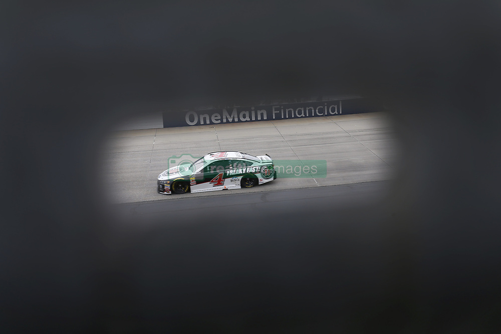 May 6, 2018 - Dover, Delaware, United States of America - Kevin Harvick (4) brings his car through the turns during the AAA 400 Drive for Autism at Dover International Speedway in Dover, Delaware. (Credit Image: © Chris Owens Asp Inc/ASP via ZUMA Wire)