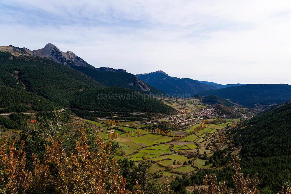 Tardor - autumn colours in Gosol, Catalonia