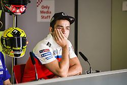 June 8, 2017 - Barcelona, Spain - MotoGP, Danilo Petrucci(Ita), Octo Pramac Racing Team during the press conference of MotoGp Grand Prix Monster Energy of Catalunya, in Barcelona-Catalunya Circuit, Barcelona on 8th June 2017 in Barcelona, Spain. (Credit Image: © Urbanandsport/NurPhoto via ZUMA Press)