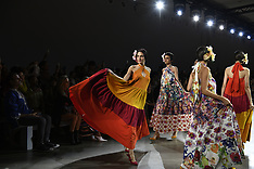 Chiara Boni S/S 2019 runway New York Fashion Week - 12 Sept 2018