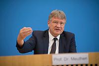 DEU, Deutschland, Germany, Berlin, 27.05.2019: AfD-Parteichef Jörg Meuthen (MdB, AfD, Alternative für Deutschland) in der Bundespressekonferenz zum Ausgang der Europawahl.