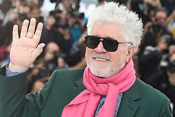 May 18, 2019 - Cannes, France - 72eme Festival International du Film de Cannes. Photocall du film ''Douleur et Gloire''. 72th International Cannes Film Festival. Photocall of ''Dolor y gloria'' movie....239404 2019-05-18  Cannes France.. Almodovar, Pedro (Credit Image: © Serge Arnal/Starface via ZUMA Press)
