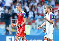 Hannes Halldorsson (Iceland) celebration<br /> Moscow 16-06-2018 Football FIFA World Cup Russia  2018 <br /> Argentina - Iceland / Argentina - Islanda<br /> Foto Matteo Ciambelli/Insidefoto