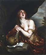 Penitent Magdalene'. Studio of Anton van Dyck (1599-1641). Oil on canvas. Private collection.