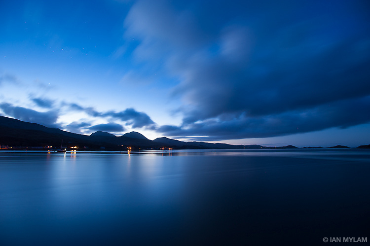 Dusk over the Isle of Jura, Scotland