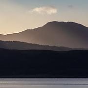 Fleeting light over Appin I, Highland, Scotland.